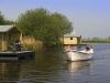 Nederland, De Heen, 24-04-2011Jachthaven de Schapenput, Heensedijk 574655 AL De HeenFamilie  de Neve06-51517217Steenbergse Vliet, Ecovlot, natuur, water, fluisterbootFoto: Ronald van den Heerik